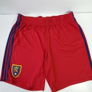 Real Salt Lake Shorts Adidas Soccer Shorts